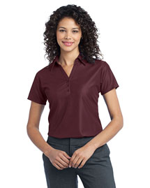 Port Authority L512 Women Vertical Pique Polo