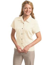 Port Authority L535 Women Easy Care Camp Shirt