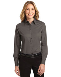 Port Authority L608 Women Long Sleeve Easy Care Shirt