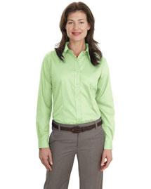 Port Authority L638 Women Long Sleeve Non-Iron Twill Shirt