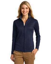 Port Authority L805 Women Heavyweight Vertical Texture Fullzip Jacket at bigntallapparel