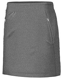 Cutter & Buck LCB07125 Women Heather Shannon Knit Skort at bigntallapparel