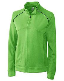 Cutter & Buck LCK08514 Women Cb Drytec Edge Full Zip