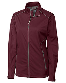 Cutter & Buck LCO01220 Women Cb Weathertec Opening Day Softshell