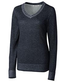 Cutter & Buck LCS04782 Women Mckenzie V-Neck Sweater at bigntallapparel
