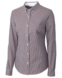 Cutter & Buck LCW04150 Women Long Sleeve Epic Easy Care Gingham