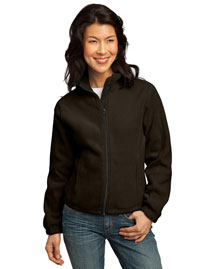 Port Authority LP77 Women R-Tek Fleece Full-Zip Jacket at bigntallapparel