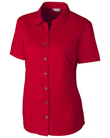 Clique/New Wave LQW00008 Women S/S Avesta Lady Stain Resistant Twill