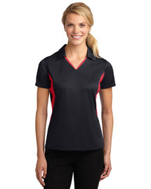 Sport-Tek LST655 Women Side Blocked Micropique Sport-Wick Polo