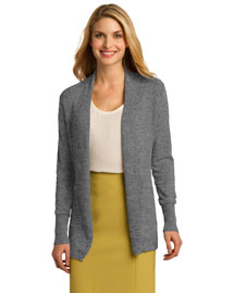Port Authority LSW289 Women Open Front Cardigan at bigntallapparel