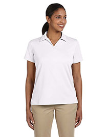 Harriton M353W Women Double Mesh Sport Shirt