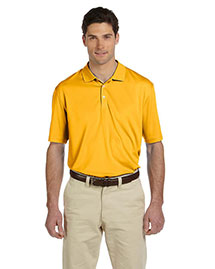 Harriton M353 Men Double Mesh Sport Shirt at bigntallapparel