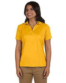 Harriton M354W Women Micro-Pique Polo