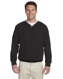 Harriton M700 Men Microfiber Windshirt at bigntallapparel