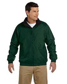 Harriton M740 Men Fleece Lined Nylon Jacket