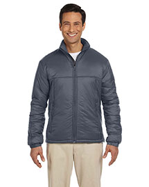 Harriton M797 Men Essential Polyfill Jacket