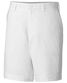Cutter & Buck MCB00087 Men Cb Drytec White Bainbridge Ff Short