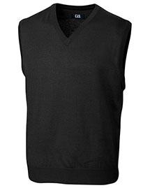 Cutter & Buck MCS01432 Men Douglas V-Neck Vest