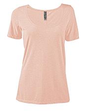 Platinum P504T Women Delta  Ladies Tri-Blend Short Sleeve Scoop Neck Tee