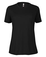 Platinum P512S Women Delta  Ladies Slub Short Sleeve Crew Neck Tee