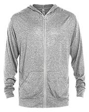 Platinum P910T Men Delta  Adult Tri-Blend Full Zip Hoodie