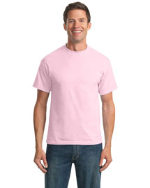 Port & Company PC55 Men 50/50 Cotton Poly 55ounce Tshirt at bigntallapparel