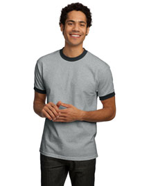 Port & Company PC61R Men Ringer T Shirt at bigntallapparel