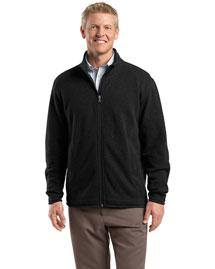 Red House RH54 Men Sweater Fleece Full Zip Jacket at bigntallapparel