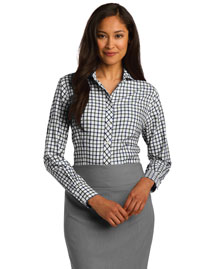 Red House RH75 Women Tricolor Check Noniron Shirt