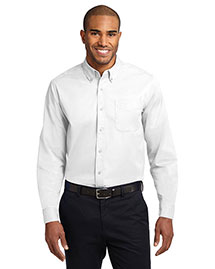 Port Authority S608ES Men  Extended Sized Long Sleeve Easy Care Dress Shirt