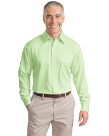 Port Authority S638 Men Long Sleeve Non Iron Twill Shirt