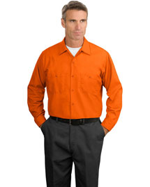 Cornerstone SP14 Men  Long Sleeve Industrial Work Shirt