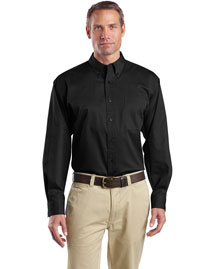 Cornerstone SP17 Men Long Sleeve Super Pro Twill Shirt