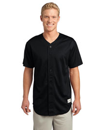Sport-Tek ST220 Men Posicharge Tough Mesh Full-Button Jersey at bigntallapparel