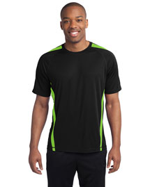 Sport-Tek ST351 Men Colorblock Competitor? Tee at bigntallapparel