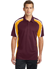 Sport-Tek ST654 Men Tricolor Micropique Sport-Wick Polo