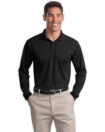 Sport-Tek ST657 Men Long Sleeve Micropique  Wick  Sport Shirt at bigntallapparel