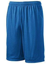 Sport-Tek T515 Men Long Mesh Shorts at bigntallapparel