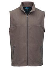Tri-Mountain F8358 Men Polar Fleece Vest W/ Slash Zipper Pockets