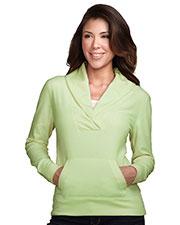 Tri-Mountain FL7270 Women 100% Polyester Long Sleeve Shawl Collar Pullover at bigntallapparel