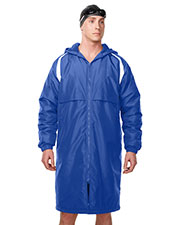 Tri-Mountain J9950 Men 100% Nylon Taslon Coat With Poly Fleece Lining at bigntallapparel