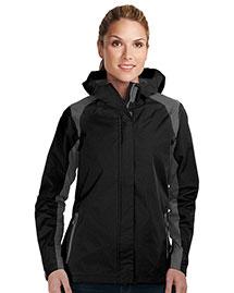 Tri-Mountain JL9200 Women 100% Nylon Water Resistant Jacket W/Hood at bigntallapparel