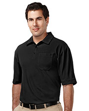 Tri-Mountain K107P Men 100% Polyester Uc S/S Golf Shirt