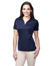Tri-Mountain KL411 Women 100% Polyester Knit S/S Golf Shirt at bigntallapparel