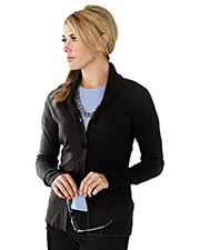 Tri-Mountain LB924 Women 100% Arcylic Long Sleeve Sweater Cardigan at bigntallapparel