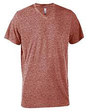 Platinum P602T Men Delta  Adult Tri-Blend Short Sleeve V-Neck Tee